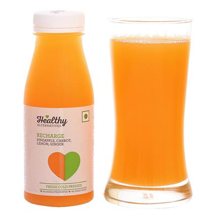 Cold Pressed Juice Recharge - Healthy Alternatives