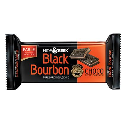 Black Bourbon Chocolate Cream Biscuits - Parle
