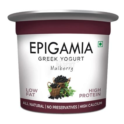 Mulberry Greek Yoghurt - Epigamia