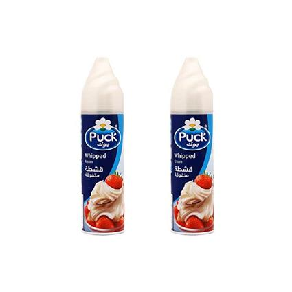 PUCK WHIPPING CREAM CAN 250G