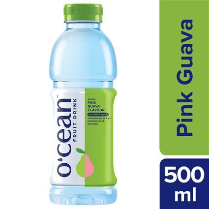 OCEAN FRUIT WATER PINK GUAVA 500ML PET