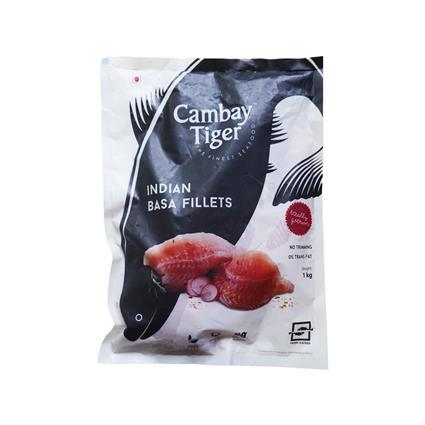 Cambay Tiger Indian Basa Fillets 1 Kgs