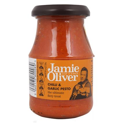 JAMIE OLIVER CHILLI&GARLIC PESTO 190G