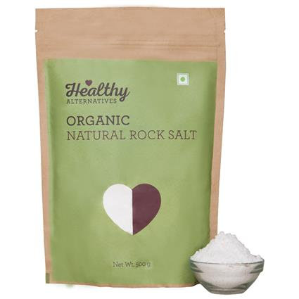 Organic Rock Salt - Healthy Alternatives