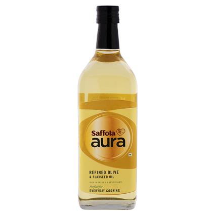 Refined Olive & Flaxseed Oil - Saffola Aura