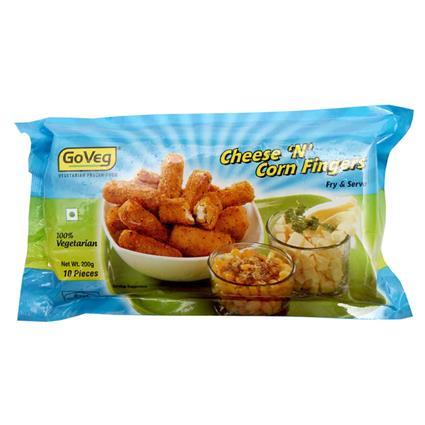 Cheese N Corn Fingers - Go Veg