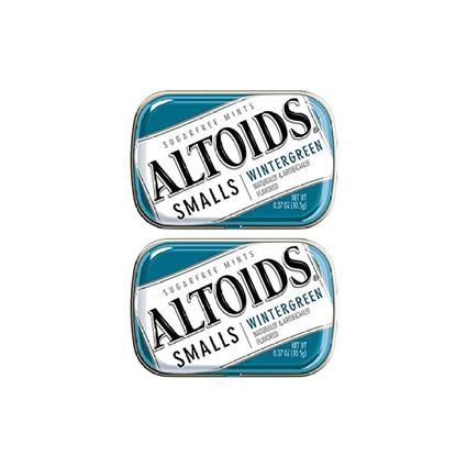 ALTOIDS WINTER GREEN SUGAR FREE 10.5G
