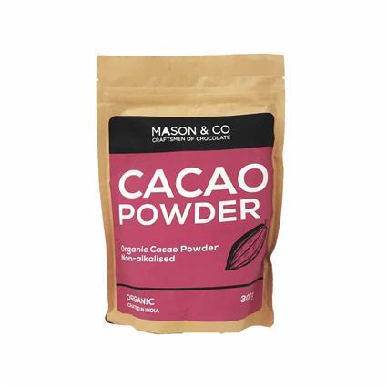 MASON N CO ORGANIC CACAO POWDER 300G