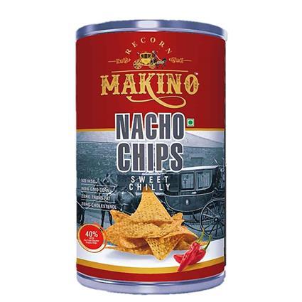 Makino Nacho Chips Sweet Chilly 50 Gm