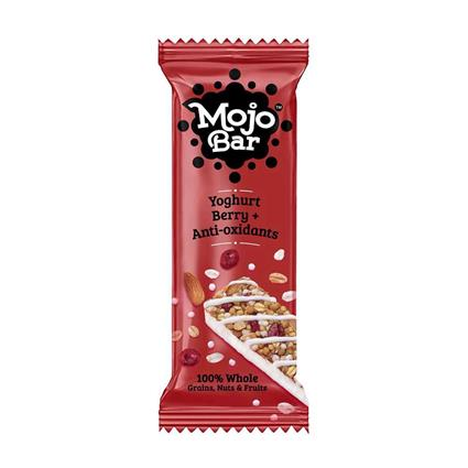 Yoghurt Berry + Anti-Oxidants Snack Bar - Mojo Bar