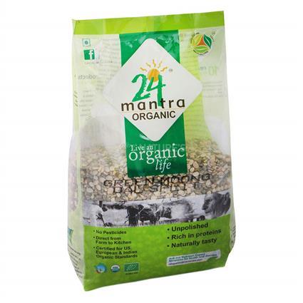 Green Moong Dal Split - 24 Mantra Organic