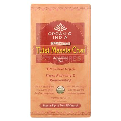 ORG INDI TULSI 25S TEA BAG BOX