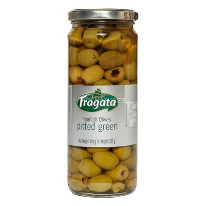 Spanish Pitted Green Olives - Fragata
