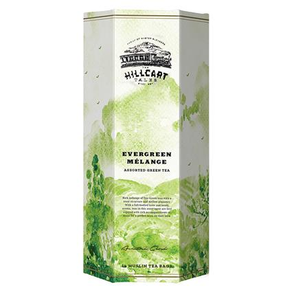 Evergreen Melange Assorted Green Tea 14 TB - The Hillcart Tales