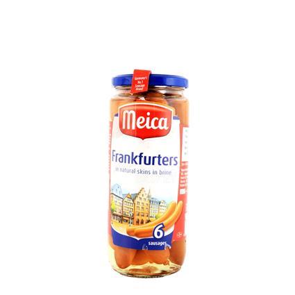 Frankfurters In Natural Skins In Brine - Sausages - Meica
