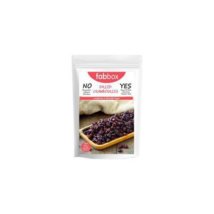 FABBOX DRIED CRANBERRIES 150G