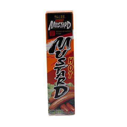 S&B Chilli Sauce Hot Mustard 43G