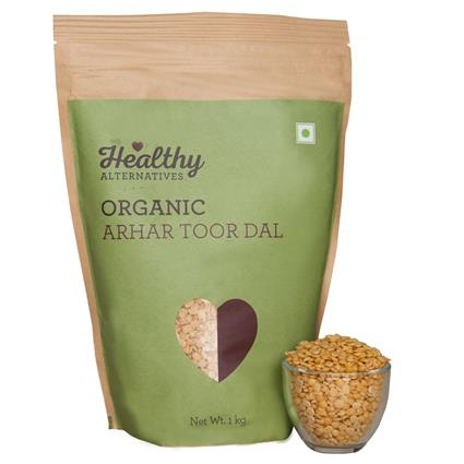 Organic Arhar Toor Dal - Healthy Alternatives
