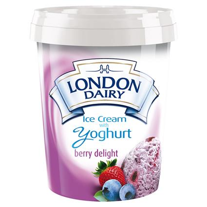 Ice Cream With Yogurt Berry Delight - London Dairy