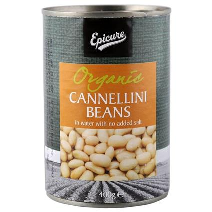 EPICURE CANNELLINI BEANS IN WATER 400G