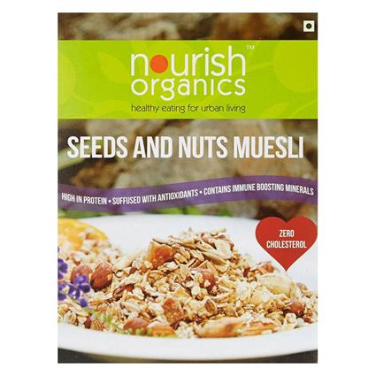 NOURISH SEEDS & NUTS MUESLI 300G-350G