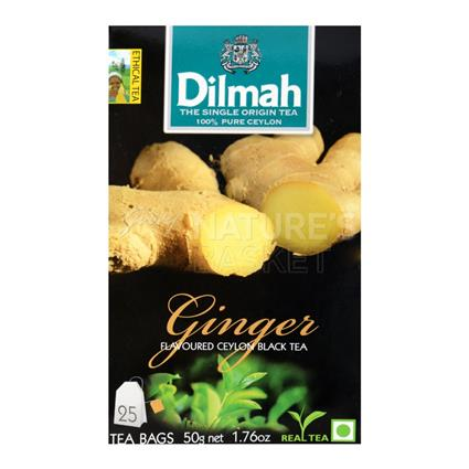 Ginger Flavoured Ceylon Black Tea - 25 Tb - Dilmah