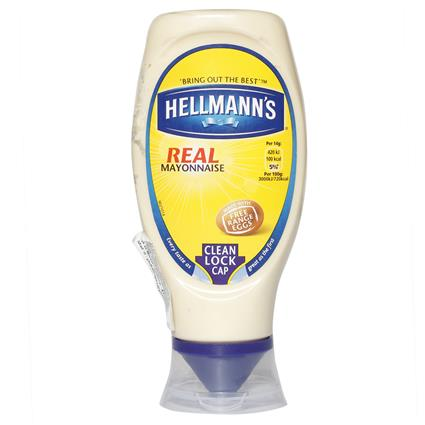 HELLMANS MAYONNAISE SQUEEZY REAL 430Ml