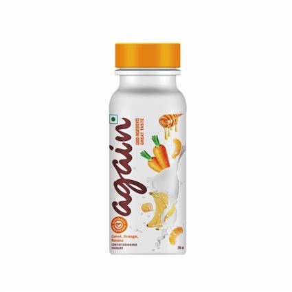 Carrot Orange And Banana Yoghurt -Again-200 Ml - Again