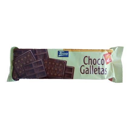 TIRMA BISCUIT WITH DARK CHOCOLATE 160G