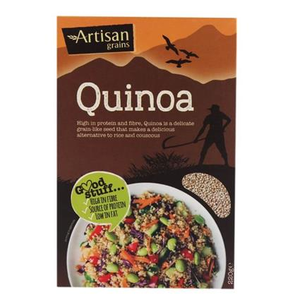 ARTISAN GRAINS ROYAL QUINOA 220G