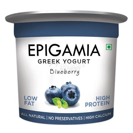 Blueberry Greek Yoghurt - Epigamia