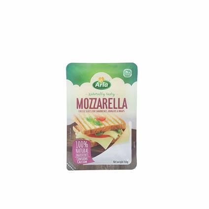 ARLA MOZZARELLA SLICES CHEESE 150G