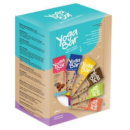 Variety Pack Nutrition Bar - Yoga Bar