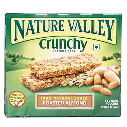 Crunchy Granola Bars - Roasted Almond  - Nature Valley