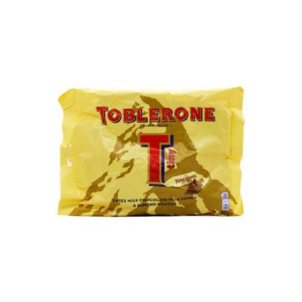 FL TOBLERONE TONE MILK MINIS BAG 200 G