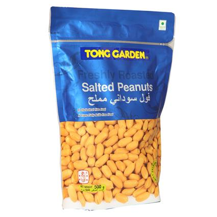 TONG GARDEN SALTED PEANUTS POUCH 400G
