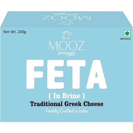 MOOZ FETA CHEESE 200G