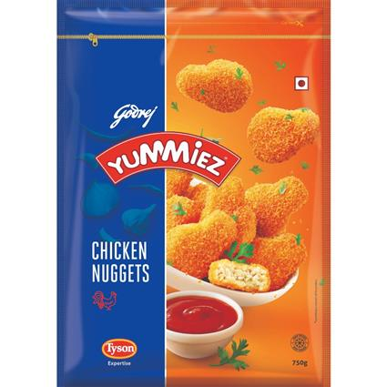 YUMMIEZ JUICY CHCKN NUGGETS 750G