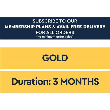 3 Month Gold Plan