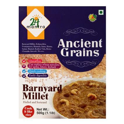 Ancient Grains Barnyard Millet - 24 Mantra Organic