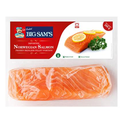 BIG SAMSÂ&Nbsp; SALMON PORTIONS 200G