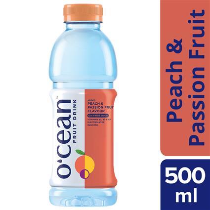 OCEAN FRUIT WATER PEACH PASION 500ML PET