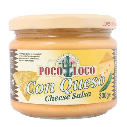 Con Queso Cheese Salsa Dip - Poco Loco