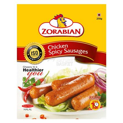 ZORABIAN CHICKEN SPICY SAUSAGE 250G