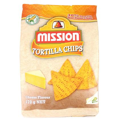 Tortilla Chips - Cheese Flavour - Mission Foods