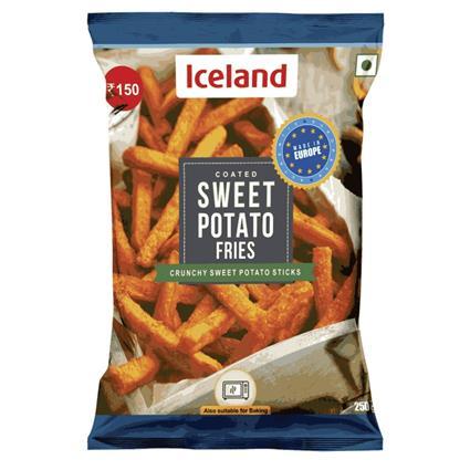 ICELAND SWEET POTATO FRIES 250G