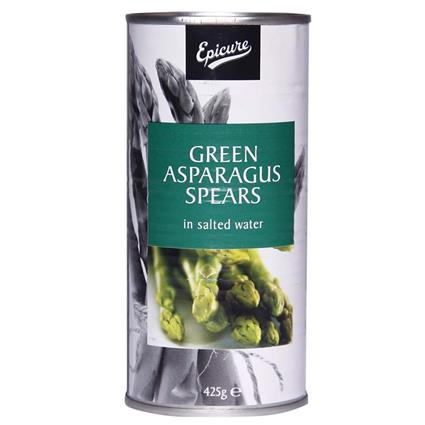 EPICURE GREEN ASPARAGUS SPEARS 425G