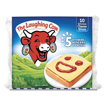 THE LAUGHING COW CHEESE SLICES 200G