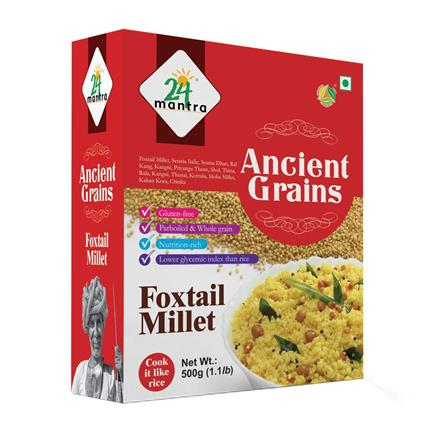 Foxtail Millets - 24 Mantra Organic
