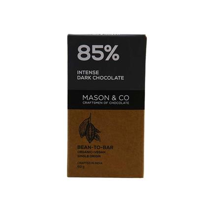 MASON N CO 85 PERC DARK CHOCO 60G